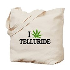 I Love Cannabis Telluride Colorado Tote Bag