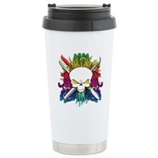 Dentist Pirate Skull Travel Mug