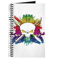 Dentist Pirate Skull Journal