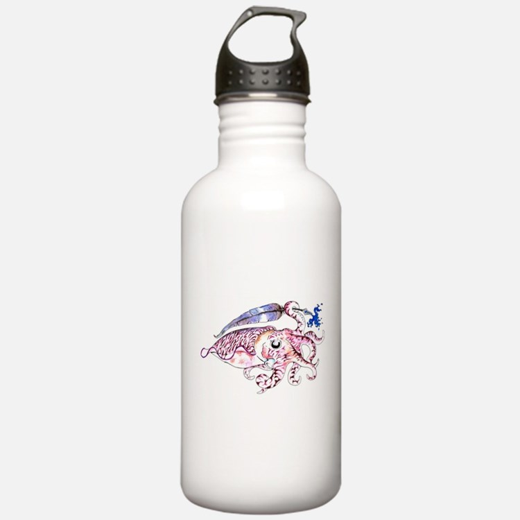Cute Cephalopod Water Bottle