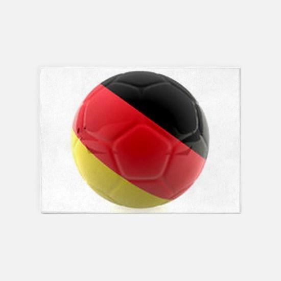 Germany world cup ball 5'x7'Area Rug
