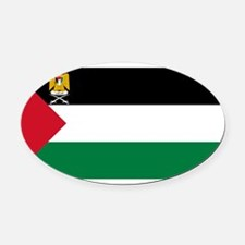 Palestine - State Flag - Current Oval Car Magnet