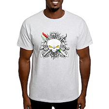 Dental Hygienist Skull T-Shirt