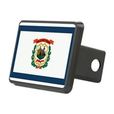 West Virginia State Flag Hitch Cover
