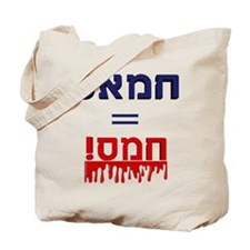 Hamas Means Violence Tote Bag