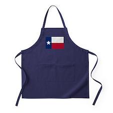 State Flag of Texas Apron (dark)