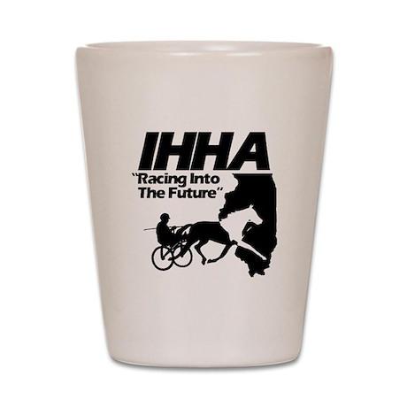 IHHA Black Logo Shot Glass