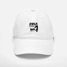 IHHA Black Logo Baseball Baseball Cap
