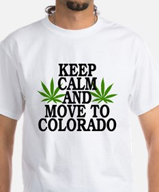 Keep Calm And Move To Colorado Shirt