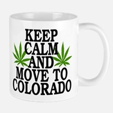 Keep Calm And Move To Colorado Small Small Mug