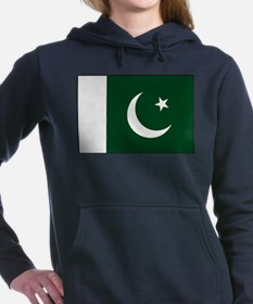Pakistan - National Flag - Current Women's Hooded
