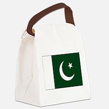 Pakistan - National Flag - Current Canvas Lunch Ba