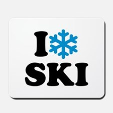 I love Ski Mousepad