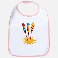 Fireworks rocket Bib