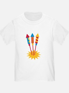 Fireworks rocket T