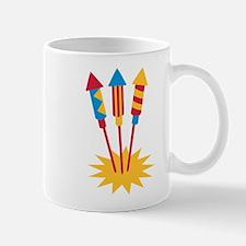 Fireworks rocket Mug