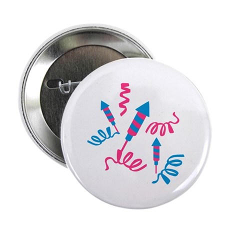 """Fireworks party 2.25"""" Button (10 pack)"""