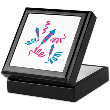 Fireworks party Keepsake Box
