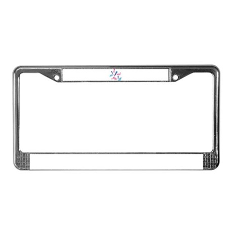 Fireworks party License Plate Frame
