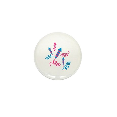 Fireworks party Mini Button (10 pack)