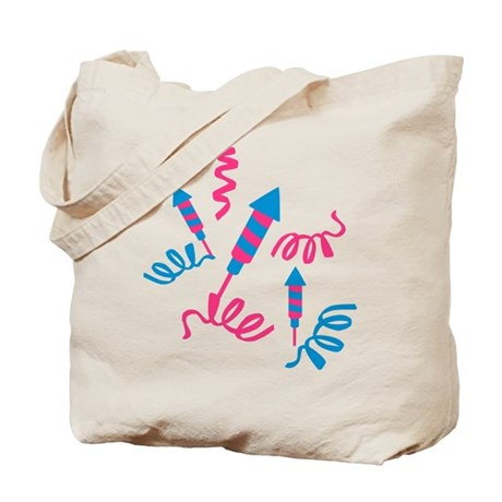 Fireworks party Tote Bag
