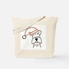 xmas dog.jpg Tote Bag