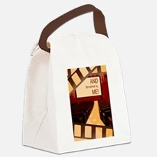 And the Winner Is Me Card.png Canvas Lunch Bag