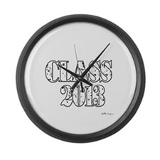 CLASS2013.png Large Wall Clock