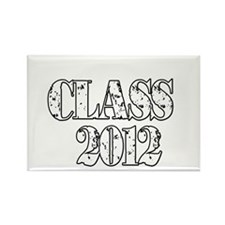 Class 2012 Rectangle Magnet
