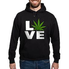 I Love Marijuana Hoodie