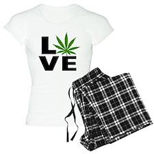 I Love Marijuana Pajamas