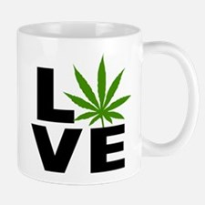 I Love Marijuana Mug