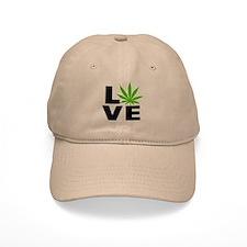 I Love Marijuana Baseball Cap