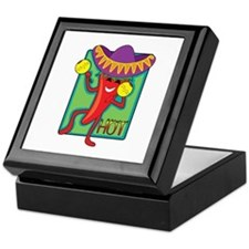 Mexican Chili Keepsake Box