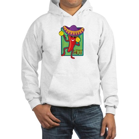 Mexican Chili Hooded Sweatshirt