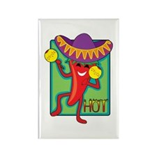 Mexican Chili Rectangle Magnet