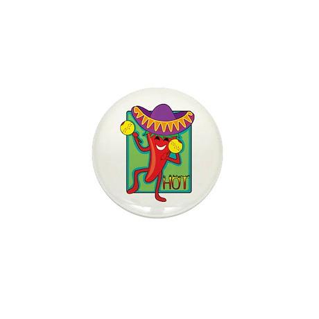 Mexican Chili Mini Button (10 pack)