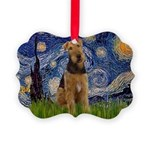 5.5x7.5-Starry-Airedale1.png Picture Ornament