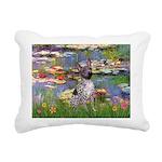 5.5x7.5-Lilies2-AHT2.png Rectangular Canvas Pillow