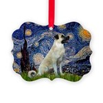 Starry-AnatolianShep 2 Picture Ornament