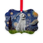 Starry-AnatolianShep1 Picture Ornament