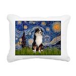TILE-Starry-Aussie2.png Rectangular Canvas Pillow
