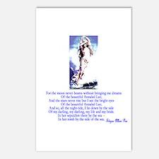 Edgar Allan Poe's Annabel Lee Postcards (Package o