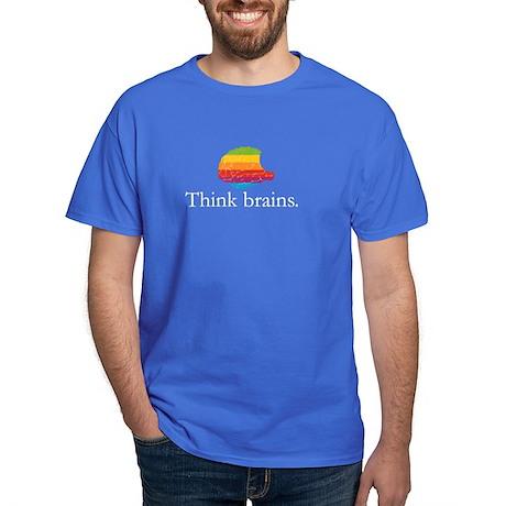 Think Brains Dark T-Shirt