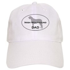 Irish Wolfhound DAD Baseball Cap