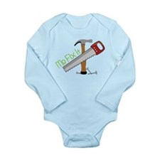 Mr Fix It Long Sleeve Infant Bodysuit