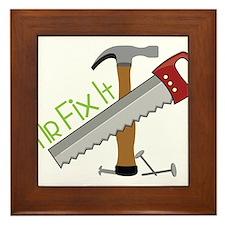 Mr Fix It Framed Tile