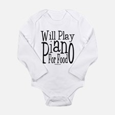 Will Play Piano Onesie Romper Suit