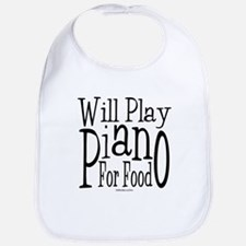 Will Play Piano Bib