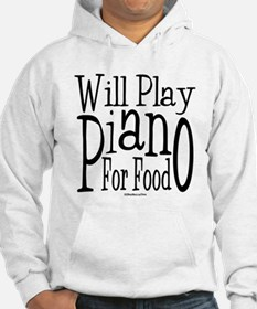 Will Play Piano Hoodie